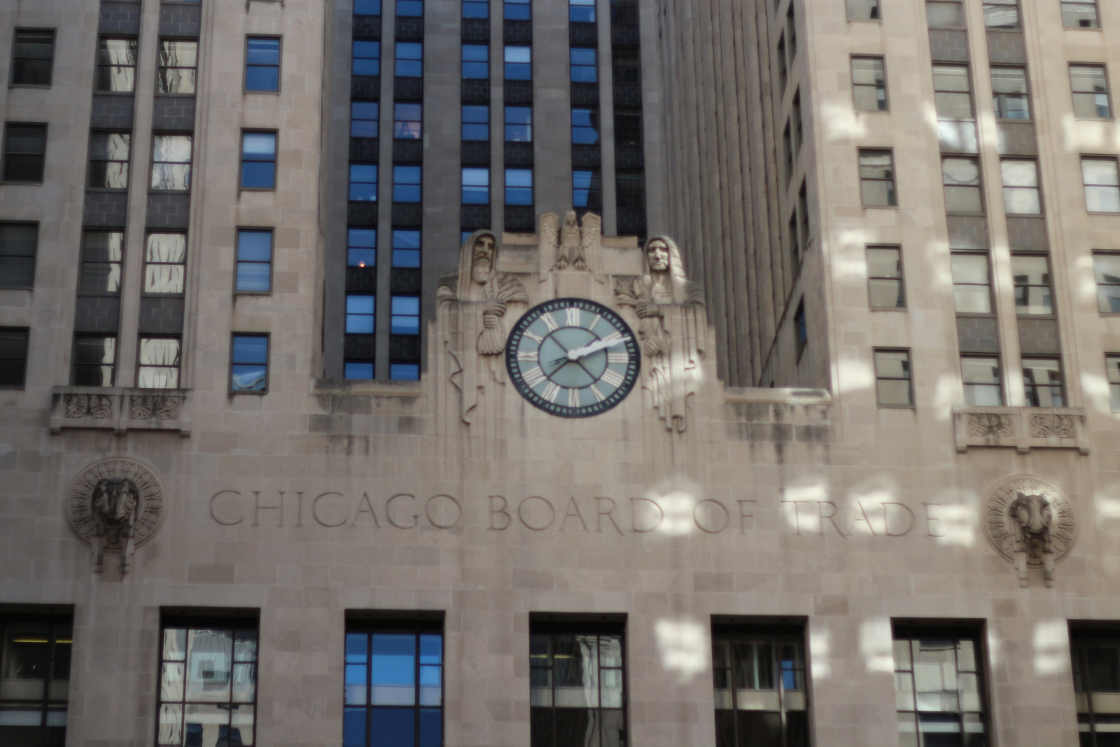 芝加哥期貨交易所 Chicago Board of Trade Building