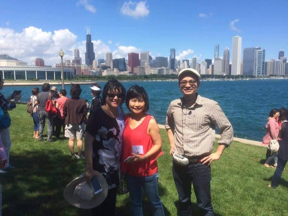 北美北一女校友年度聚會: 巴士及陸路導覽