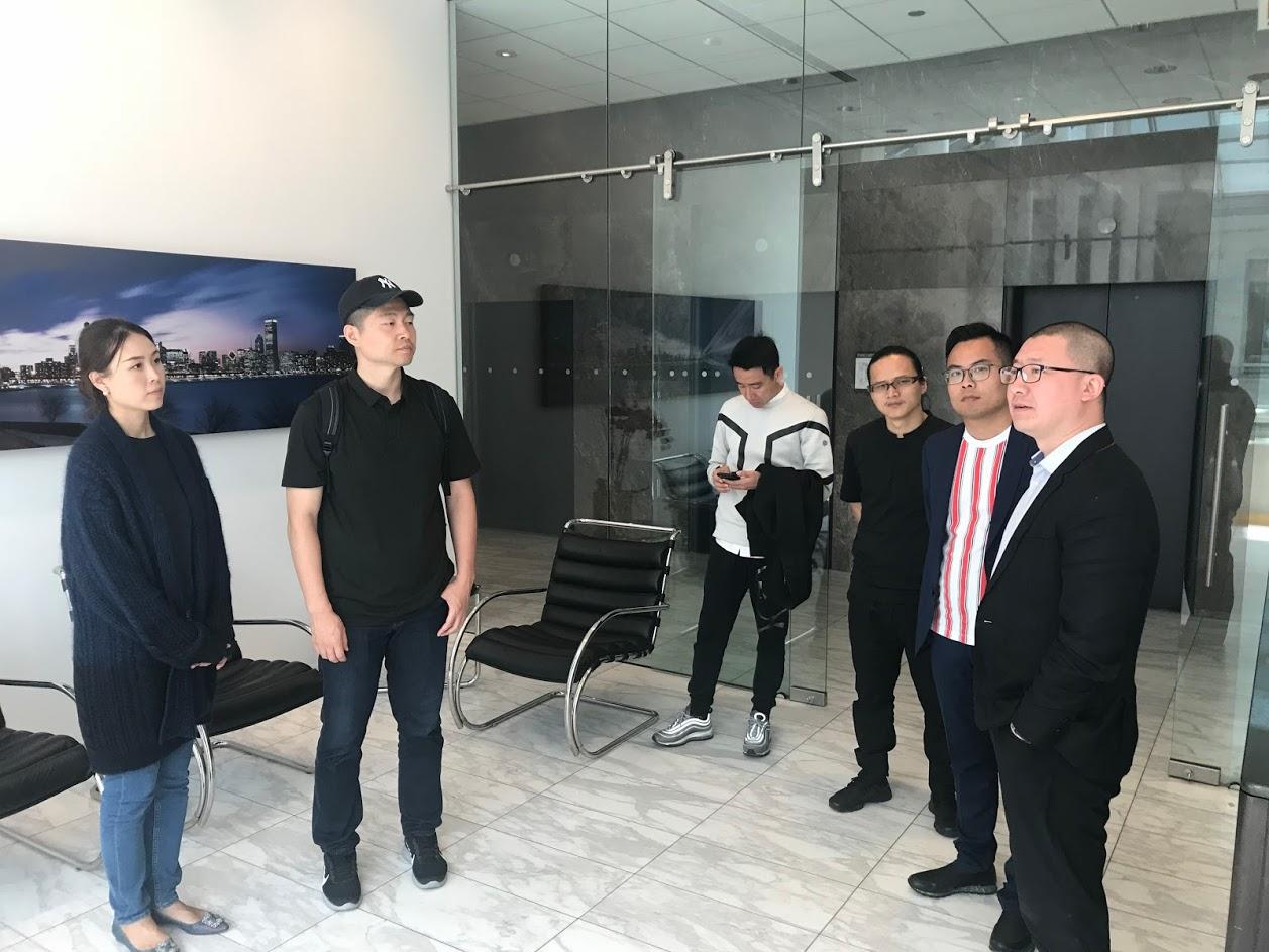 中國環球觀築建築參訪團